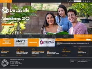 Universidad de la Salle Bajío A.C.'s Website Screenshot