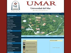 Universidad del Mar Screenshot