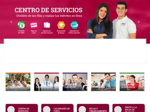 Universidad del Noreste A.C.'s Website Screenshot