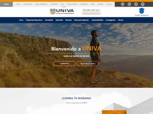Universidad del Valle de Atemajac A.C.'s Website Screenshot