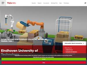 Eindhoven University of Technology Screenshot