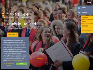 Nyenrode Business Universiteit Screenshot