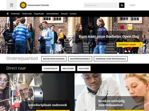 Universiteit Utrecht Screenshot