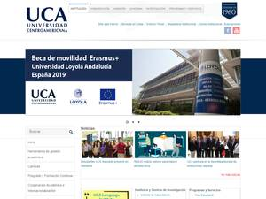 Central American University Screenshot