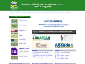 University of the Autonomous Regions of the Nicaraguan Caribbean Coast Screenshot