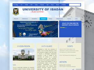 University of Ibadan Screenshot