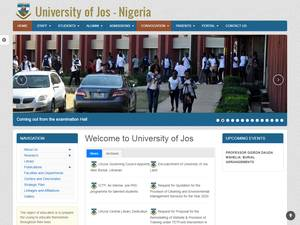 University of Jos Screenshot