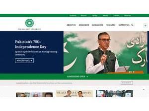 Aga Khan University   Ranking & Review
