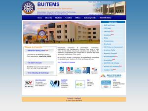 Balochistan University of Information Technnology, Engineering and Management Sciences Screenshot
