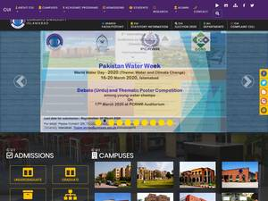 COMSATS Institute of Information Technology Screenshot