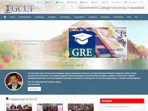 Government College University, Faisalabad | Ranking & Review