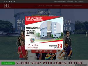 Hajvery University Screenshot
