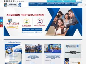 Universidad Nacional Santiago Antúnez de Mayolo's Website Screenshot