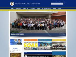 Ateneo de Manila University Screenshot