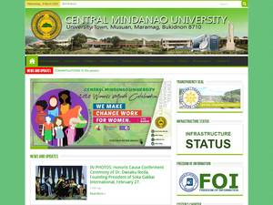 Central Mindanao University Screenshot
