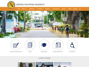 Central Philippine University Screenshot