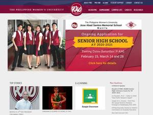 The Philippine Women's University Screenshot