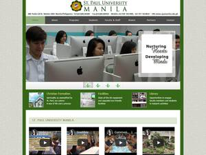 St. Paul University Manila Screenshot