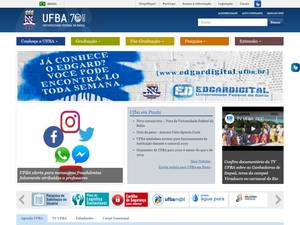 Universidade Federal da Bahia Screenshot