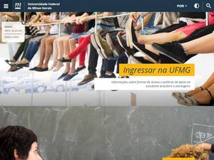Universidade Federal de Minas Gerais's Website Screenshot