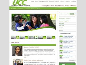 Central University of the Caribbean's Website Screenshot