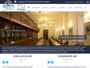 Bucharest Academy of Economic Studies Screenshot