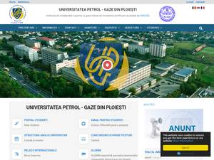 Universitatea Petrol-Gaze din Ploiesti Screenshot