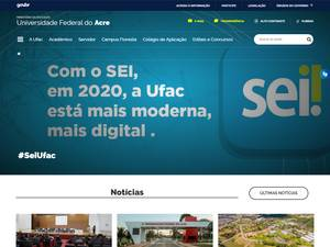 Federal University of Acre Screenshot