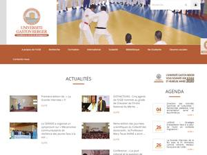 Université Gaston Berger Screenshot