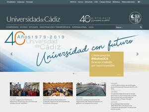Universidad de Cádiz Screenshot