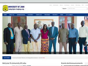 University of Juba Screenshot