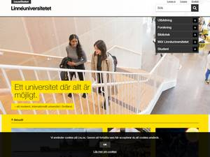 Linnéuniversitetet Screenshot