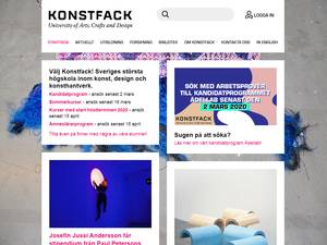 Konstfack Screenshot