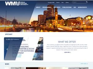 World Maritime University Screenshot