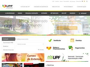 University of Passo Fundo Screenshot
