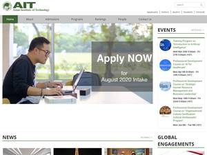 Asian Institute of Technology Screenshot