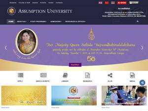 Assumption University Screenshot