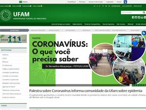 Federal University of Amazonas Screenshot