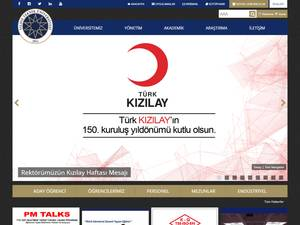 Yildiz Technical University Screenshot