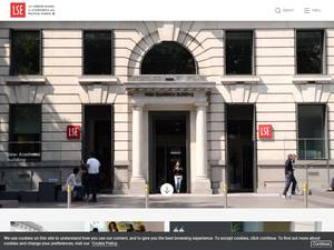 The London School of Economics and Political Science Screenshot