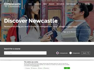 Newcastle University Screenshot