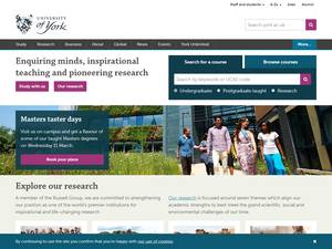 The University of York Screenshot