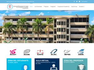 Universidad Bicentenaria de Aragua Screenshot