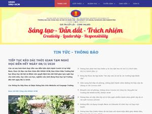 Ho Chi Minh City University of Social Sciences and Humanities's Website Screenshot