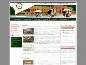 University of Ouagadougou Screenshot