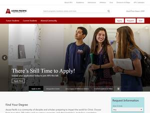 Azusa Pacific University Screenshot