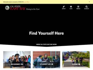 California State University, East Bay Screenshot