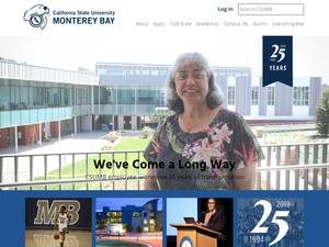 California State University, Monterey Bay's Website Screenshot