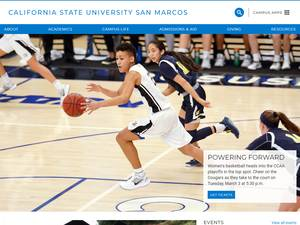 California State University San Marcos's Website Screenshot