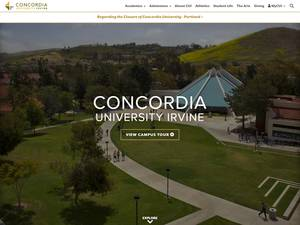 Concordia University Irvine Screenshot